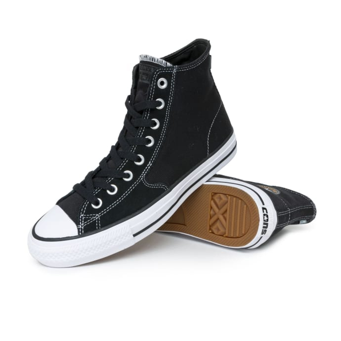 Converse Chuck Taylor All Star Pro SJO High Shoes - Black/Orange Rind