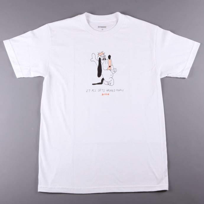 Butter 'Washed Away' T-Shirt (White)