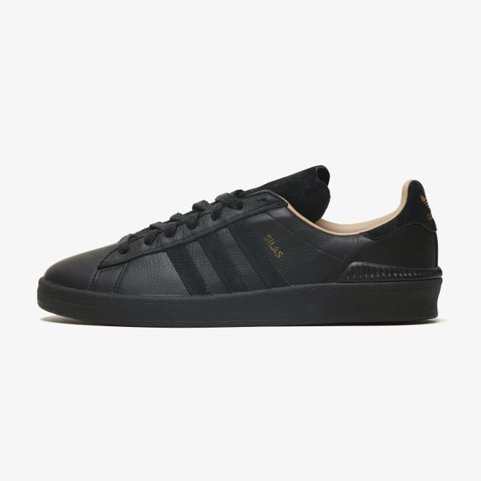 adidas Campus ADV Silas Baxter-Neal Skateboarding Shoe - Core Black/Core Black/St Pale Nude