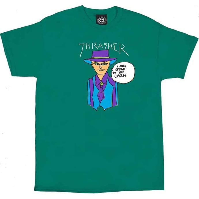 Thrasher Gonz Cash T-Shirt - Jade
