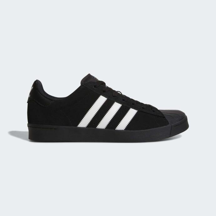Adidas Superstar Vulc ADV Shoes - Core Black/Cloud White/Core Black