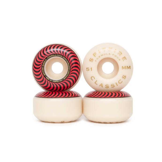 Spitfire Formula Four Classic 101a Wheels - 51mm