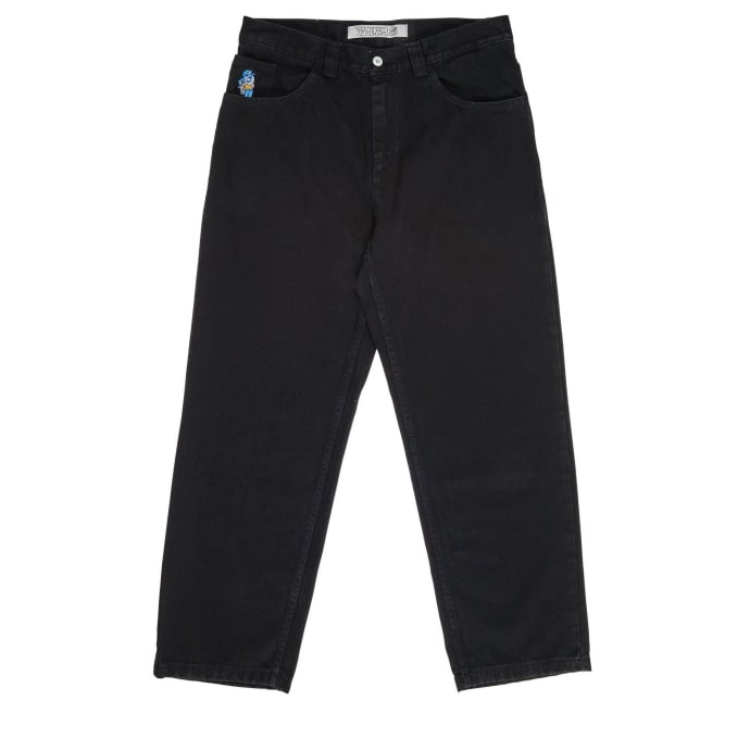 Polar Skate Co 93 Denim - Pitch Black