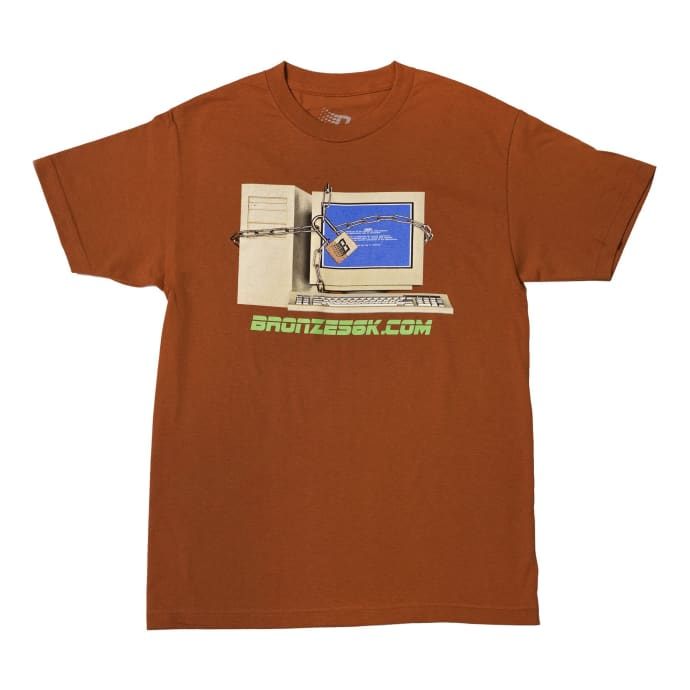 Bronze 56K Firewall T-Shirt - Texas Orange