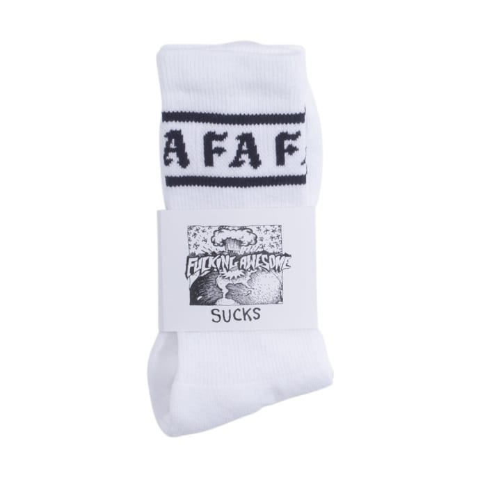 Fucking Awesome Children Of A Lesser God Socks - White/Navy