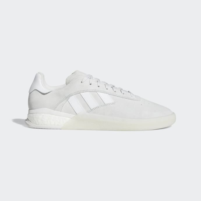 Adidas 3ST.004 Shoes - Crystal White/FTWR White/Crystal White