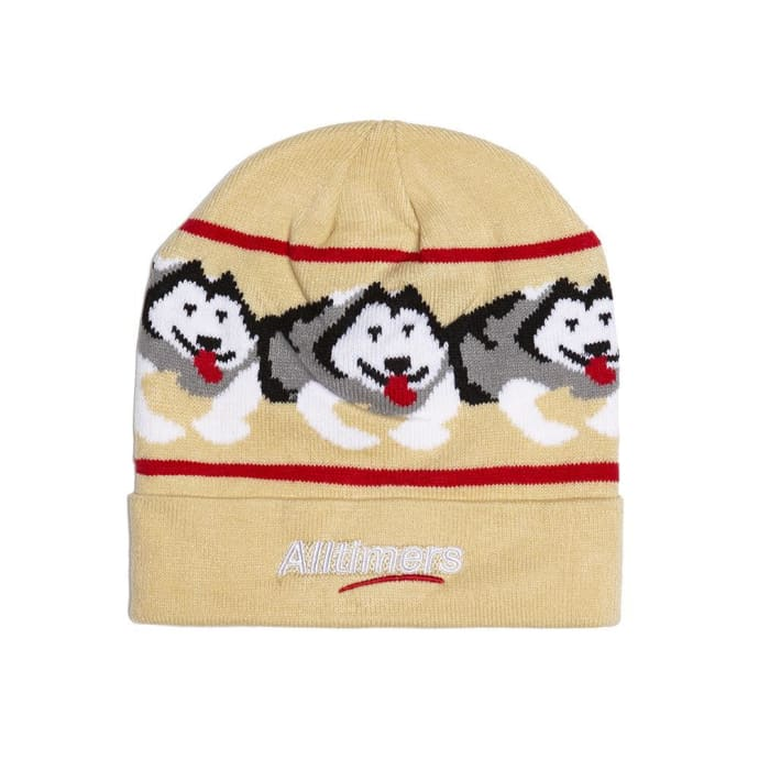 Alltimers Snow Pup Beanie - Tan