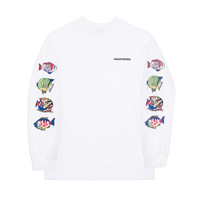 Alltimers Deep Sea Long Sleeve T-Shirt - White