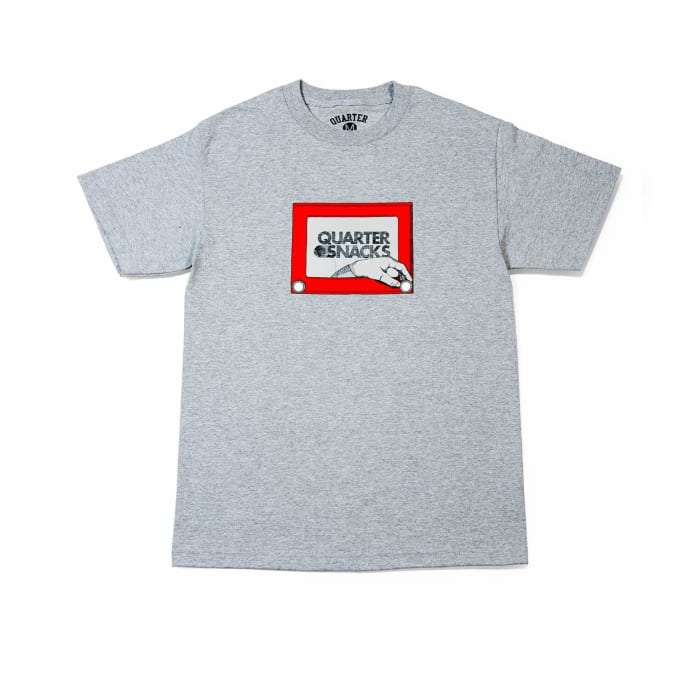 Quartersnacks Sketch T-Shirt - Grey