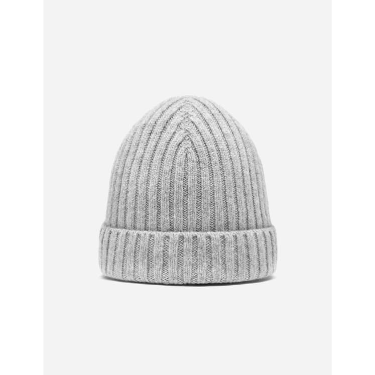 Beanie Rib you are loved light gray.