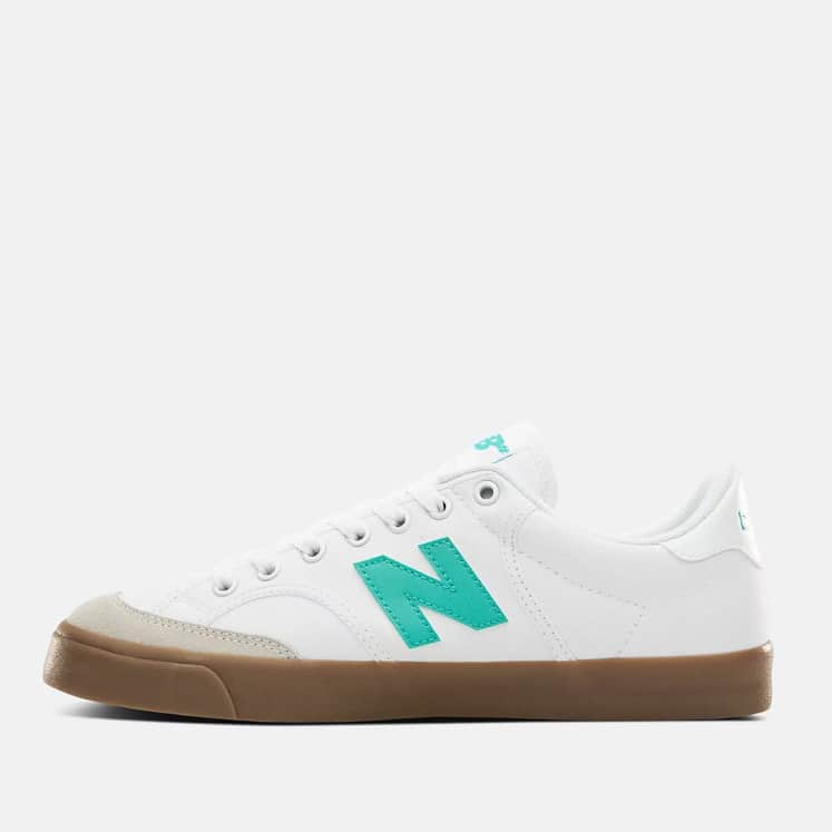 New Balance Numeric 212 Skate Shoe - White / Tidepool