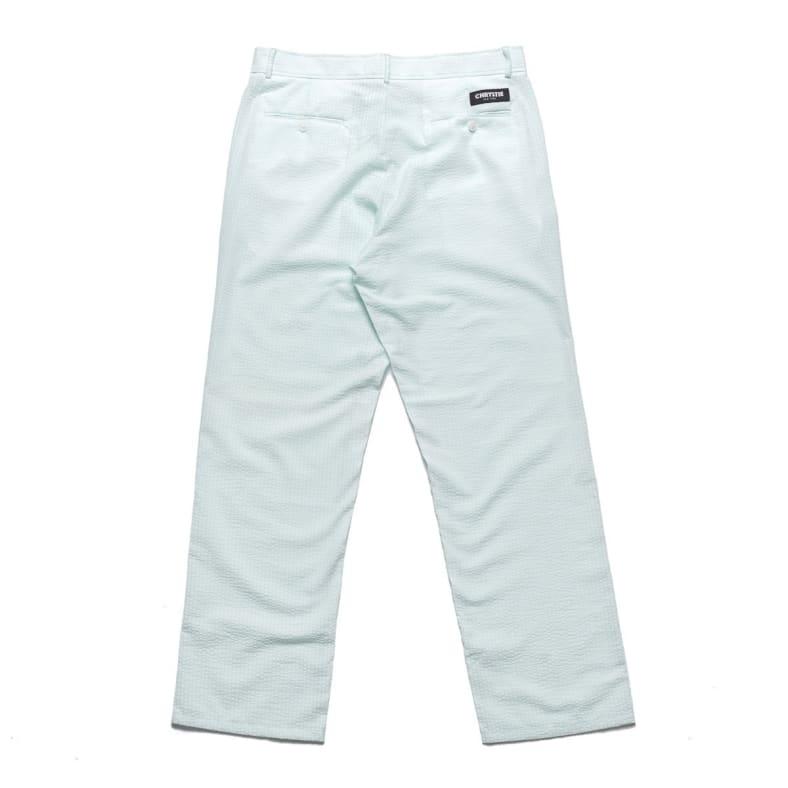 Shop Chrystie Nyc Seersucker Pants Mint Parade