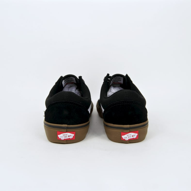 824c1cf1 Shop Vans - Old Skool Pro Shoes - Black / White / Gum | Parade
