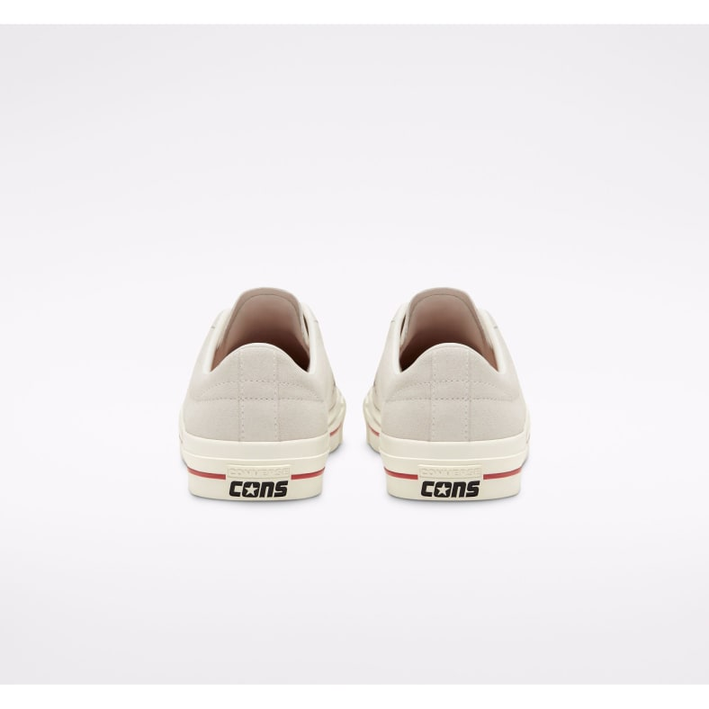 Converse Cons One Star Pro Ox Skate Shoe Egret Claret
