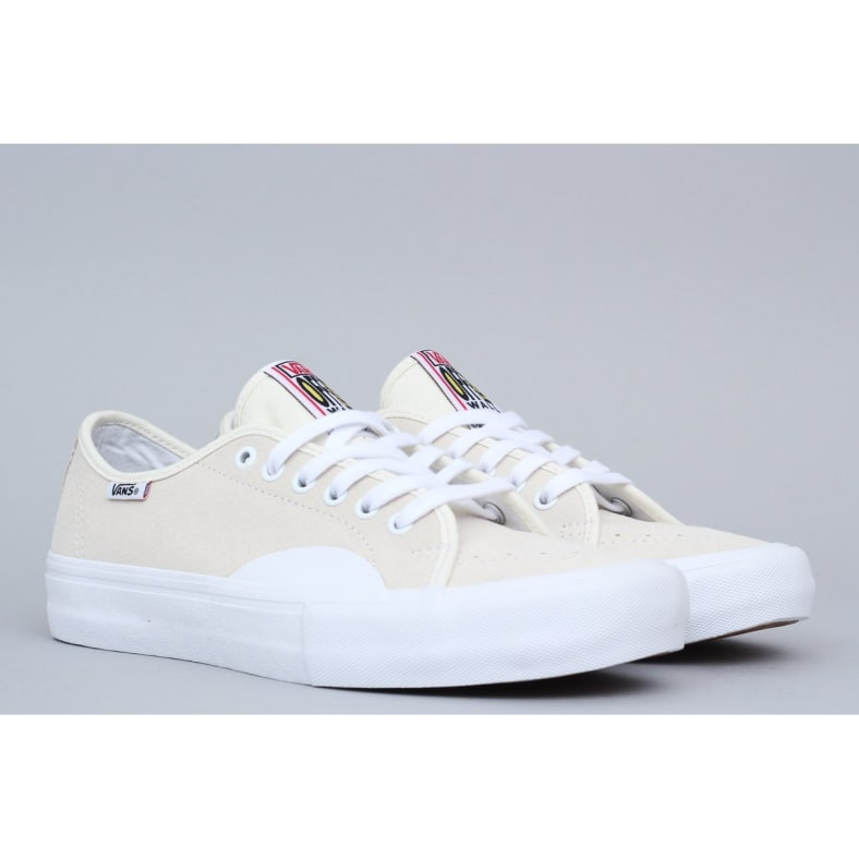 Shop Vans AV Classic Pro Shoes Rubber White White | Parade