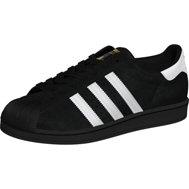 adidas superstar black and white with gold