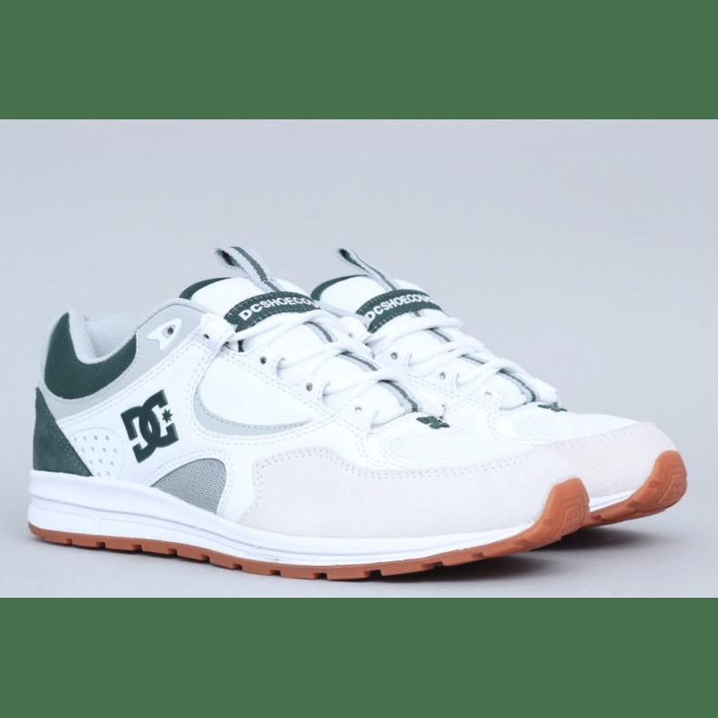 dc kalis lite white & gum shoes