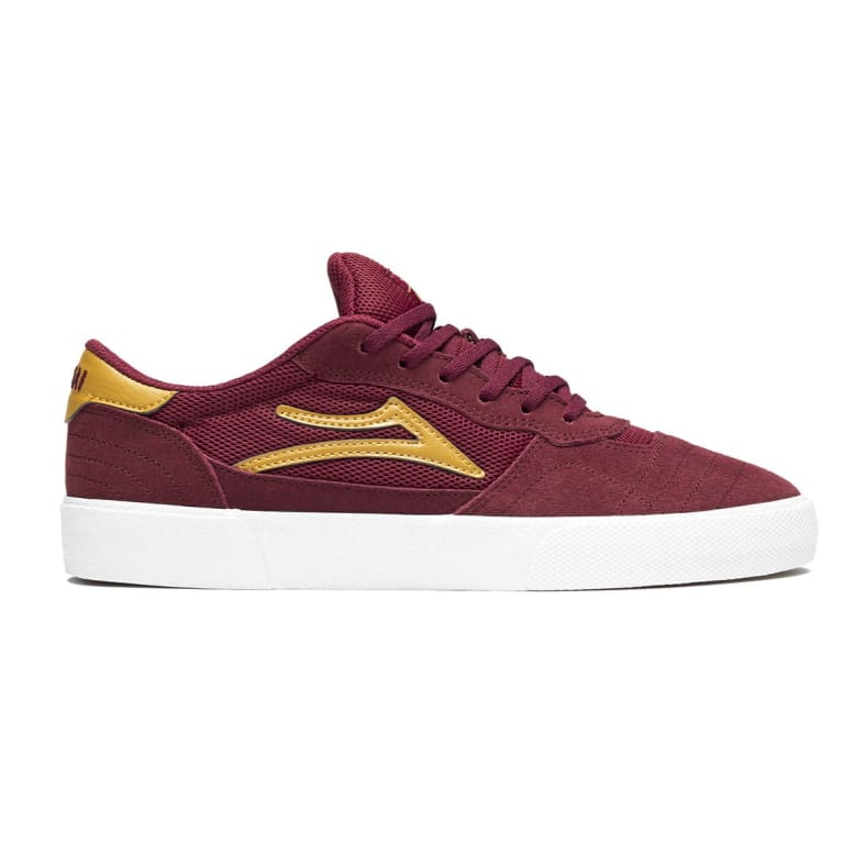 Lakai Skateboard Shoes Staple Red Suede Size 8