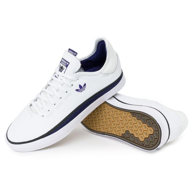 Rezumar fantasma Frank Worthley  Adidas Sabalo x Hardies Shoes - White/Collegiate Purple/Black | Parade