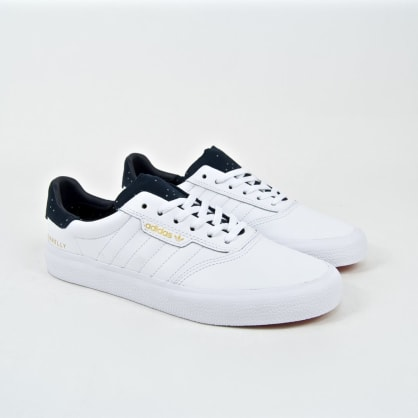 Adidas Skateboarding - Jake Donnely 3MC Shoes - Footwear White / Collegiate Navy / Gold Metallic