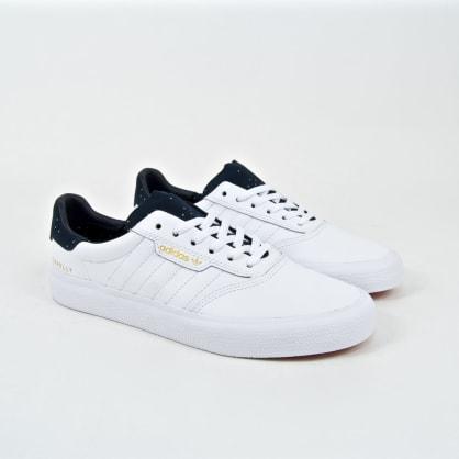Adidas Skateboarding - Jake Donnely 3MC Shoes - Footwear White / Collegiate Navy / Gold Metallic