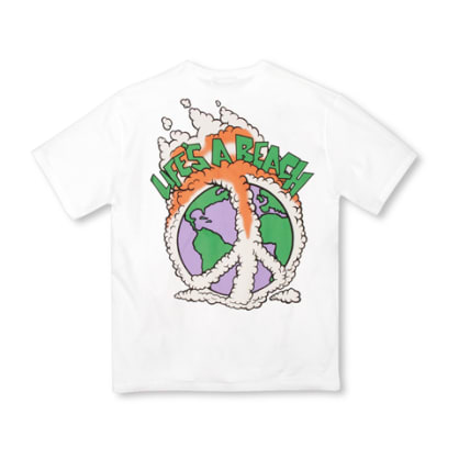 LAB WHITE WORLD PEACE TEE