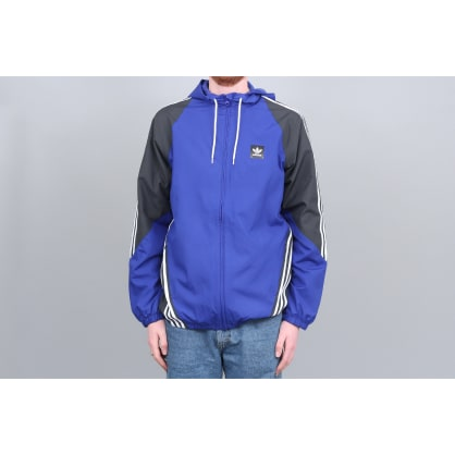 adidas Insley Jacket Active Blue / Dgh Solid Grey / White