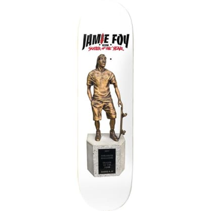 "Deathwish Skateboards Jamie Foy ""Skater Of The Year"" Trophy Skateboard Deck - 8.5"