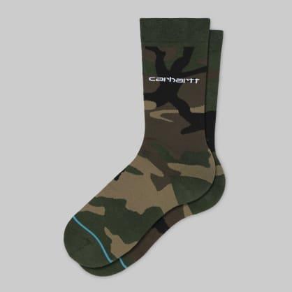 Carhartt Stance Camo Laural Socks - Camo Laurel