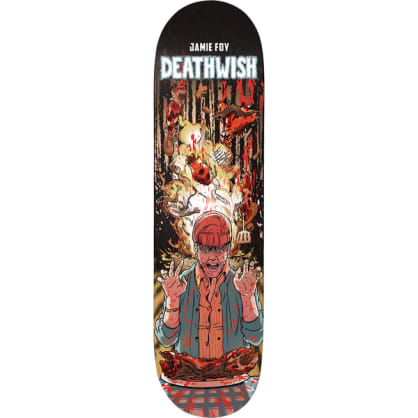 Deathwish Skateboards Jamie Foy Premonition Skateboard Deck - 8.3875