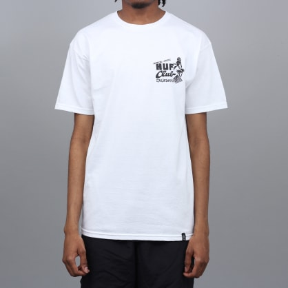 HUF Match Stick T-Shirt White