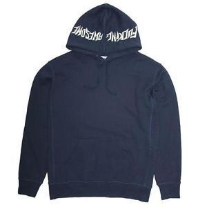 Fucking Awesome Embroidered Hood Logo Hoodie - Navy