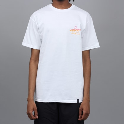 HUF Radical Triple Triangle T-Shirt White