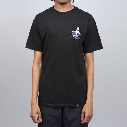 HUF Street Shark T-Shirt Black
