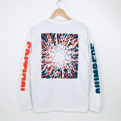 Numbers Edition - 12:45 Swirl Longsleeve T-Shirt - Off White