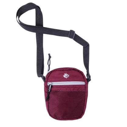 Sport Pouch Hip Bag | Burgundy