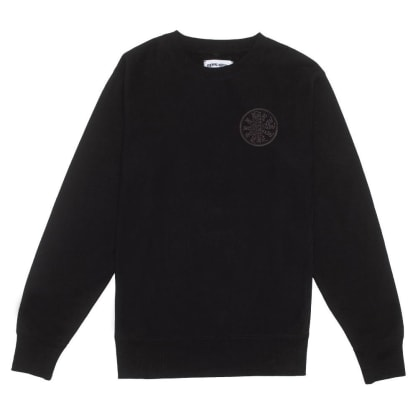 Spiral French Terry Crew Sweat