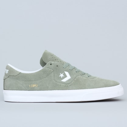 Converse Louie Lopez Pro OX Shoes Jade Stone / White / White