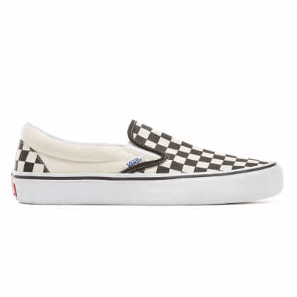 Vans Slip-On Pro - Checkerboard/Black/White