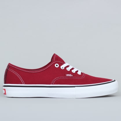 Vans Authentic Pro Shoes Rumba Red / Port Royale