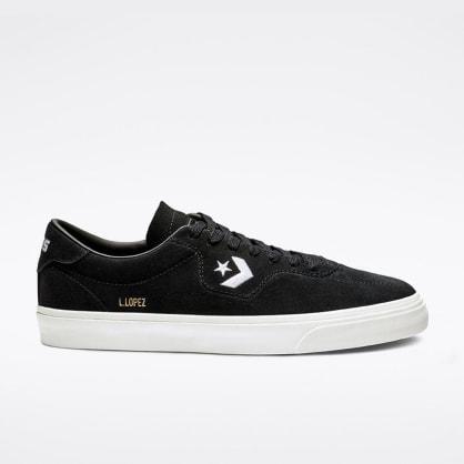 Converse Cons Louie Lopez Pro Shoes - Black/Black/White