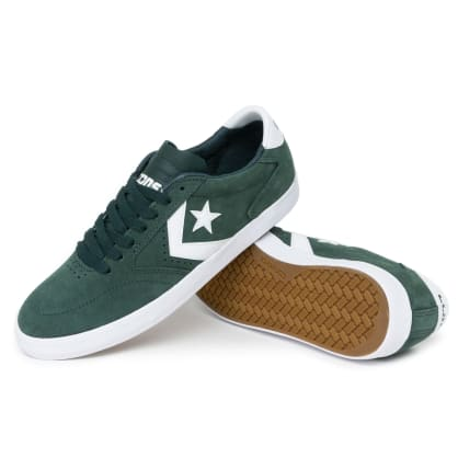 Converse Checkpoint Pro OX Shoes - Deep Emerald/White