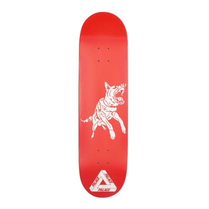 Palace Red Dog Deck - 8.375""