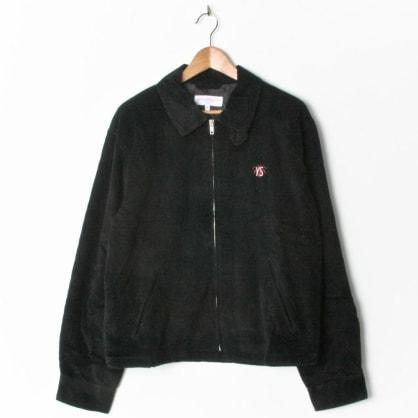 Yardsale Spider Corduroy Jacket Black