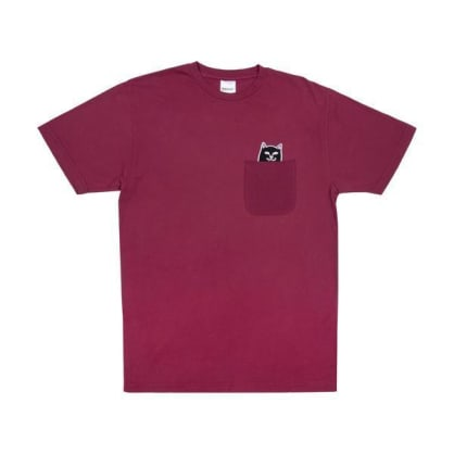 Lord Jermal Pocket T-Shirt | Wine