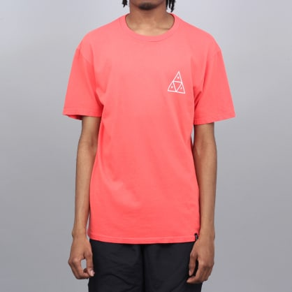 HUF Essentials Triple Triangle T-Shirt Cayenne