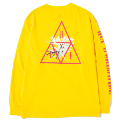 Jungle TT Long Sleeve T-Shirt | Yellow