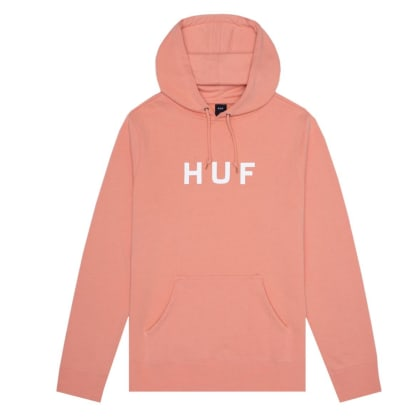 HUF Essentials OG Logo Pull Over Hoodie - Canyon Sunset