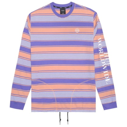 HUF Essex LS Knit Top - Canyon Sunset