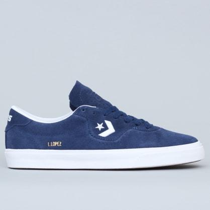 Converse Louie Lopez Pro OX Shoes Navy / White / Gum